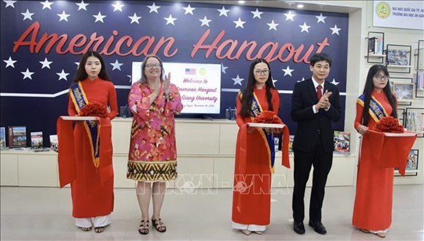 US interactive learning space launched at An Giang University