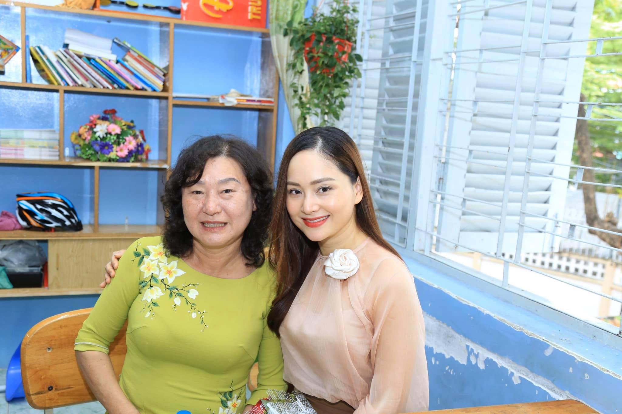 Diễn viên Lan Phương mong thầy cô nhẫn nại, yêu thương, không làm tổn thương học sinh