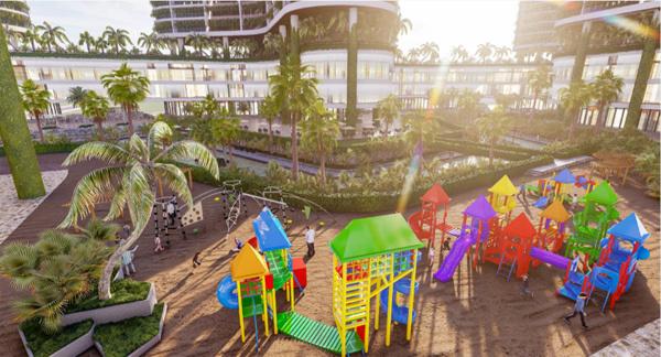 Khu giải trí cho trẻ em rộng gần 6.000m2 của tổ hợp 'Wellness & Fresh' resort