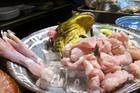 Kinh hoàng với nguyên liệu lẩu ếch nhiễm sán, cấp đông nhập từ Trung Quốc