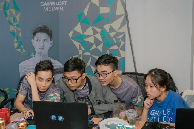 GAMELOFT,vn students,game creation,IT news