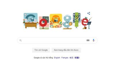 Google gửi lời tri ân ngày Nhà giáo Việt Nam 20/11