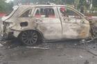 Vụ Mercedes kéo nhiều xe máy bốc cháy, khiến 1 nạn nhân tử vong: Chiếc xe ô tô chồng mới mua vài ngày giao cho vợ sử dụng