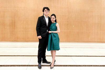 Giảng viên 9X kể chuyện kiếm được vợ là BTV Thời sự xinh đẹp nhờ piano