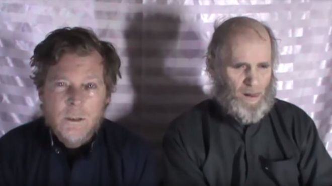 US and Australian hostages freed in Taliban prisoner swap