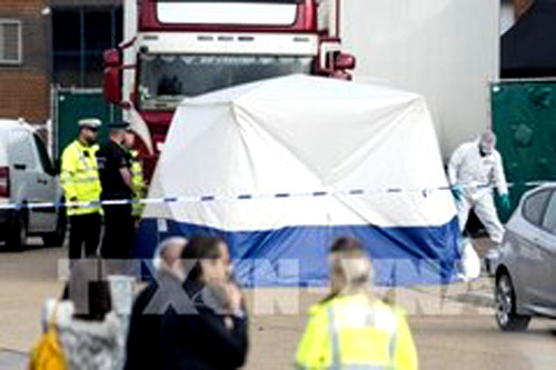 Vietnamese families of UK lorry victims have to cover repatriation costs