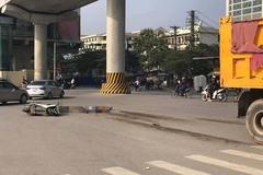 1 người chết, 1 người bị thương do va chạm với xe tải ở Hà Nội