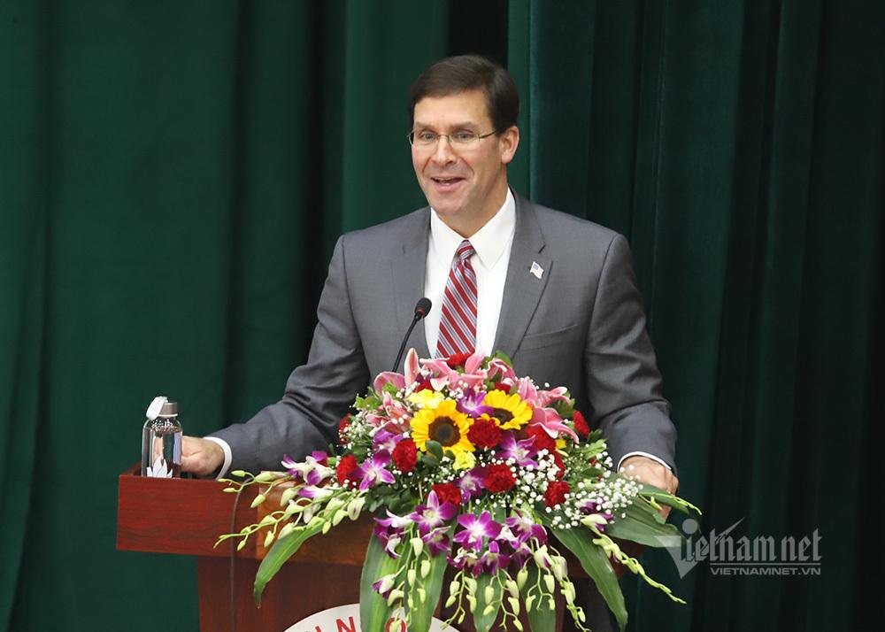 Bộ trưởng Quốc phòng Mỹ dẫn chuyện Hai Bà Trưng, ngưỡng mộ tinh thần tự cường Việt Nam