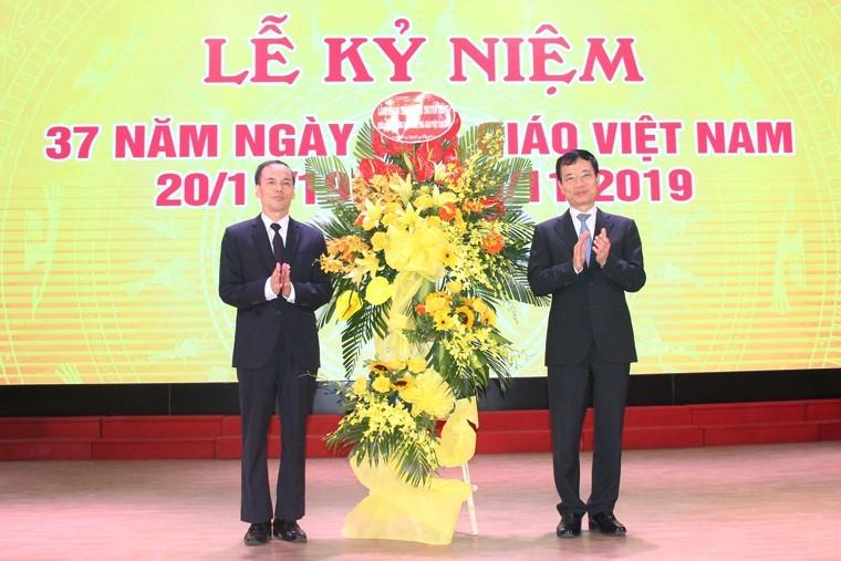 ngày nhà giáo,Học viện Công nghệ Bưu chính Viễn thông,Bộ trưởng Nguyễn Mạnh Hùng