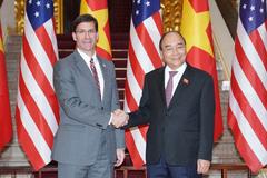 Thủ tướng tiếp Bộ trưởng Quốc phòng Mỹ