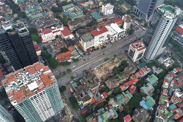 Động đất ở Lào gây rung lắc chung cư Hà Nội