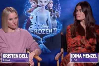 Tiết lộ bất ngờ của hai diễn viên lồng tiếng Elsa, Anna trong 'Nữ hoàng băng giá'