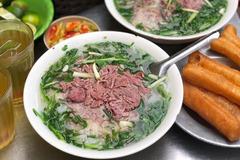 6 hàng phở ở phố cổ Hà Nội xuất hiện trên tạp chí nước ngoài