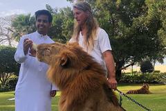 Rich kid 10X Dubai sở hữu cả vườn thú mini