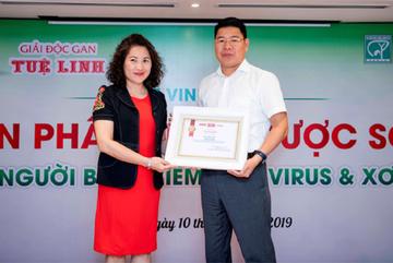 Giải độc gan Tuệ Linh nhận giải 'Sản phẩm thảo dược số 1'