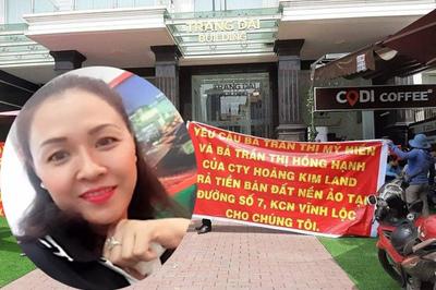 Nữ giám đốc công ty Hoàng Kim Land bị bắt