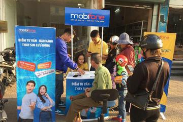 MobiFone thay 1 triệu SIM 4G miễn phí cho khách hàng trên toàn quốc