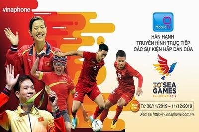 Xem trực tiếp sự kiện hấp dẫn của SEA Games 30 trên MobileTV