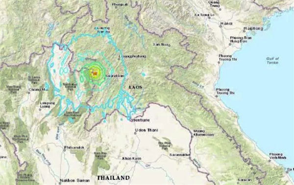 Hanoi shakes after earthquake in Laos