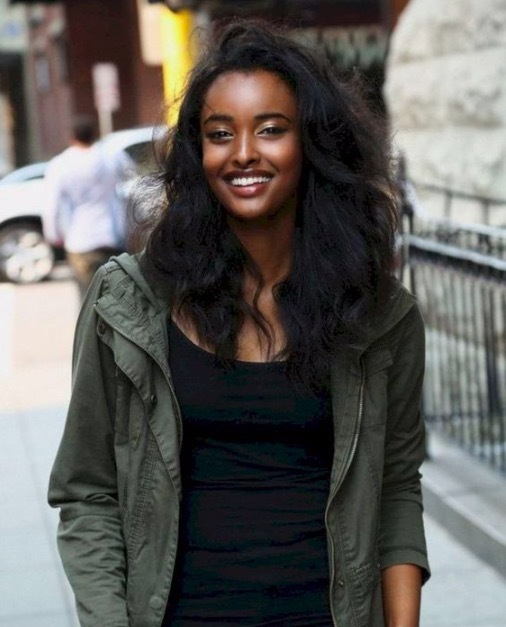 vẻ đẹp mê hoặc,thiếu nữ,châu Phi,người đẹp châu Phi