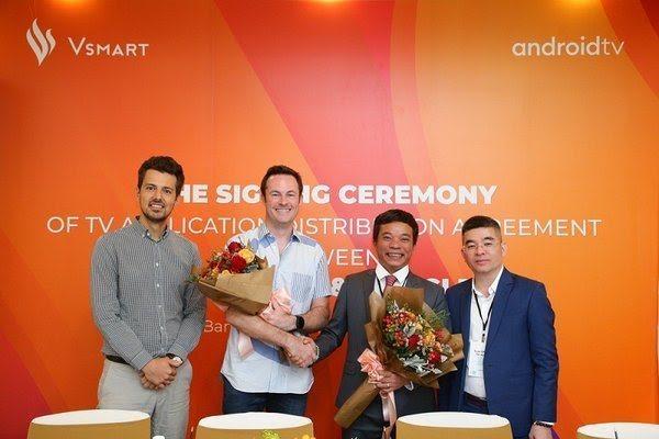 Vingroup, Google to produce smart TVs