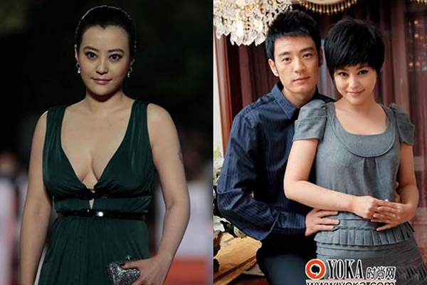 'Siêu vòng một' Trung Quốc bỏ chồng thứ hai, cặp kè nhân tình mới
