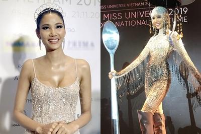 Hoàng Thùy nói về nghi vấn nâng cấp vòng 1 thi Miss Universe