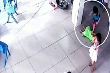 Kindergarten deputy headmaster suspended for trampled child