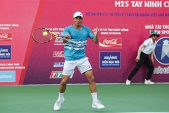 Nguyen to take Vietnam's first ever SEA Games tennis title