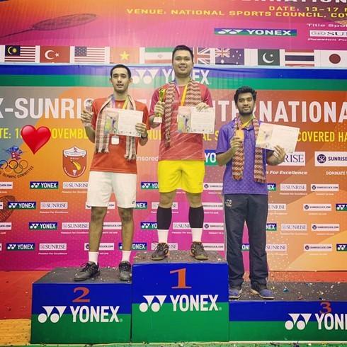 Pham Cao Cuong triumphs in Nepal International Challenge