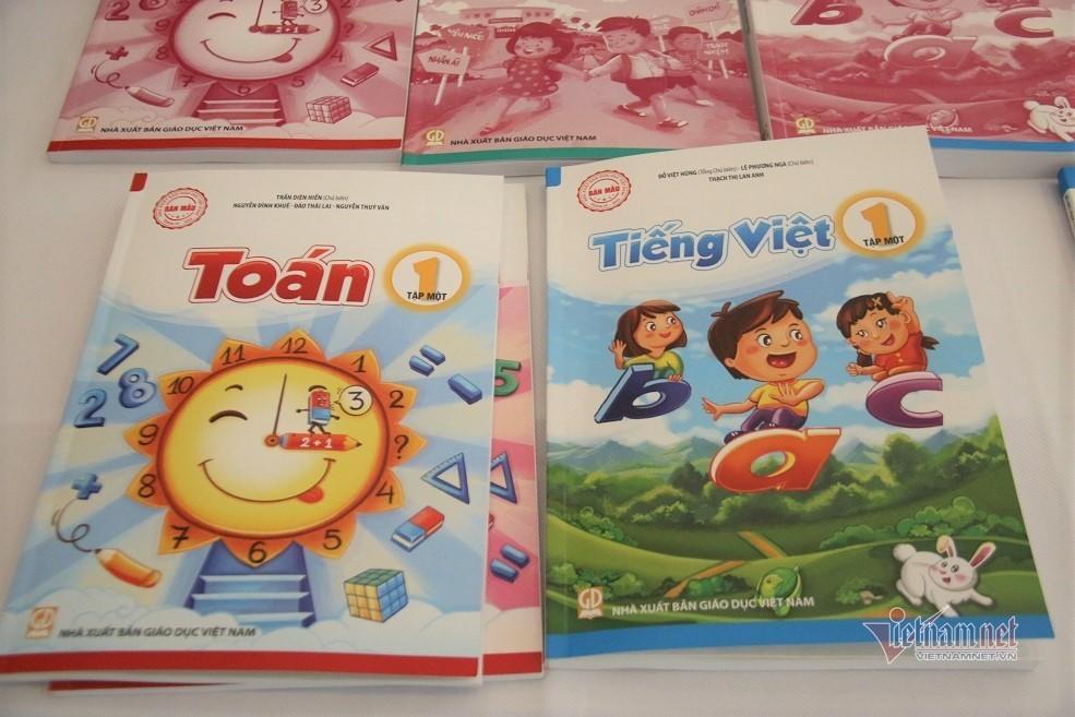 Chiều nay công bố các bộ sách giáo khoa lớp 1 mới