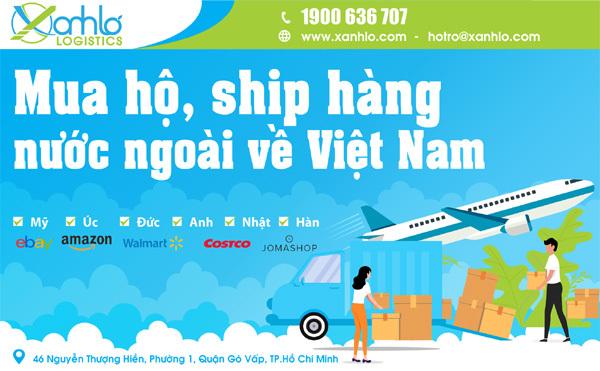 Xanh Lơ - địa chỉ mua hộ, vận chuyển hàng nước ngoài về Việt Nam
