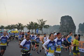 Halong Bay marathon is back this Sunday