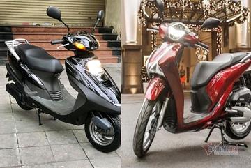 Có 120 triệu, chọn Honda Spacy 125 cũ 10 năm tuổi hay SH mới?