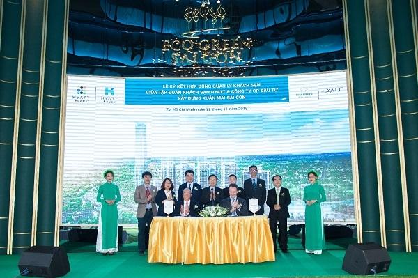 Xuân Mai Sài Gòn bắt tay Hyatt Hotels ra mắt khách sạn quốc tế