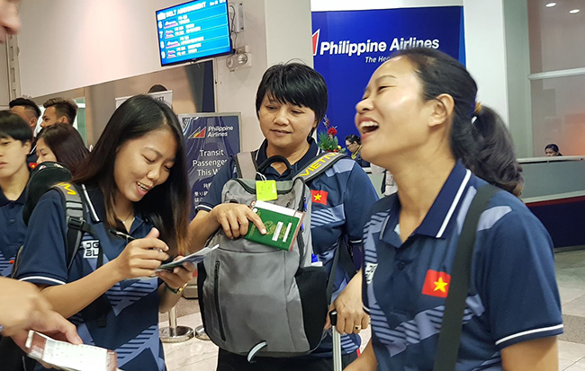 U22 Việt Nam, tuyển nữ Việt Nam đổ bộ Philippines
