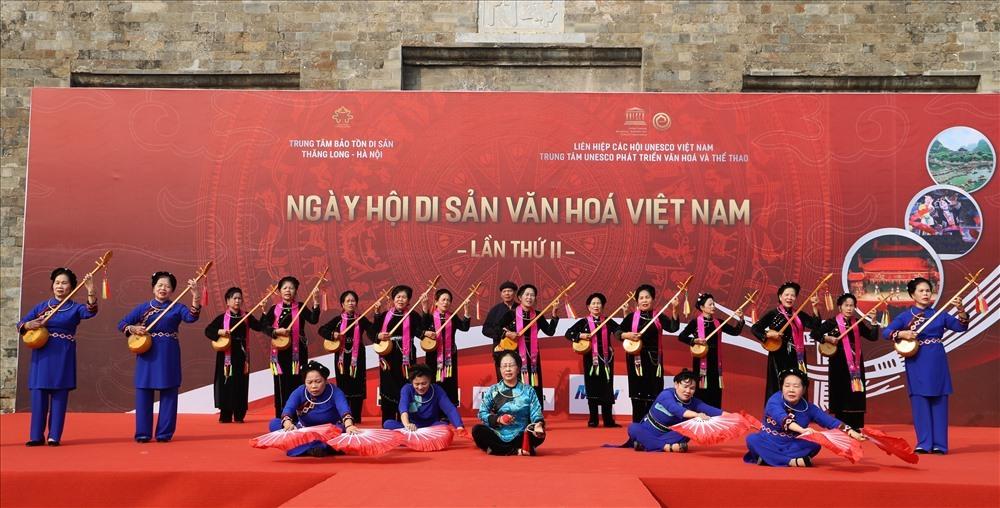 Giới thiệu nhiều văn hoá phi vật thể tại ngày Di sản văn hóa VN lần thứ 2