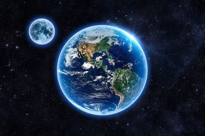 Lý do bầu trời của Mặt Trăng và không gian luôn tối đen