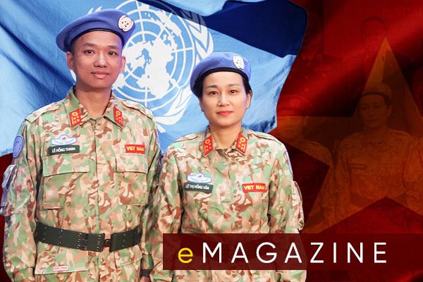 Điều đặc biệt của vợ chồng sĩ quan Việt đầu tiên đi gìn giữ hòa bình