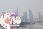 Trời Sài Gòn mịt mù, app ngoại dập dìu chỉ số ô nhiễm có đáng tin cậy