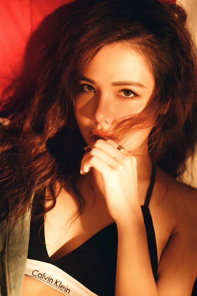 Diễn viên Phanh Lee hóa bad girl yêu cuộc sống độc thân