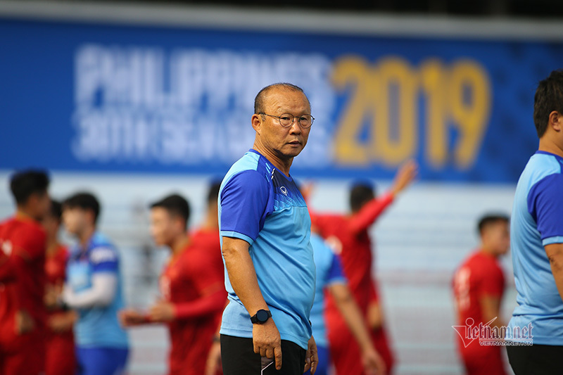 HLV Park Hang Seo tuyên bố dùng đội hình dự bị đấu Brunei