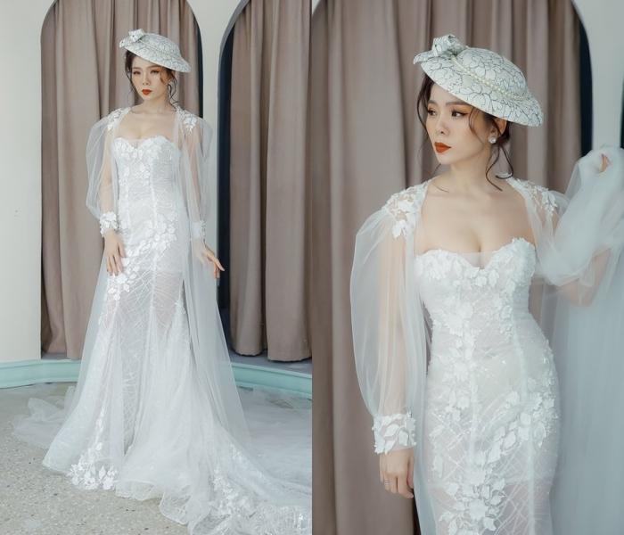 Lệ Quyên yêu kiều hoá cô dâu, Hà Hồ quyến rũ diện đồ hiệu