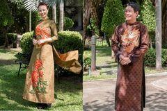 Nón lá, áo dài Việt Nam tung bay trên sàn diễn thời trang Thái Lan