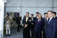 Thủ tướng dự lễ động thổ dự án trọng điểm quốc gia của Hàn Quốc