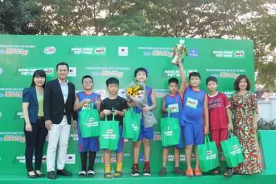 Kết thúc Giải bóng rổ Học sinh Tiểu học Hà Nội năm 2019