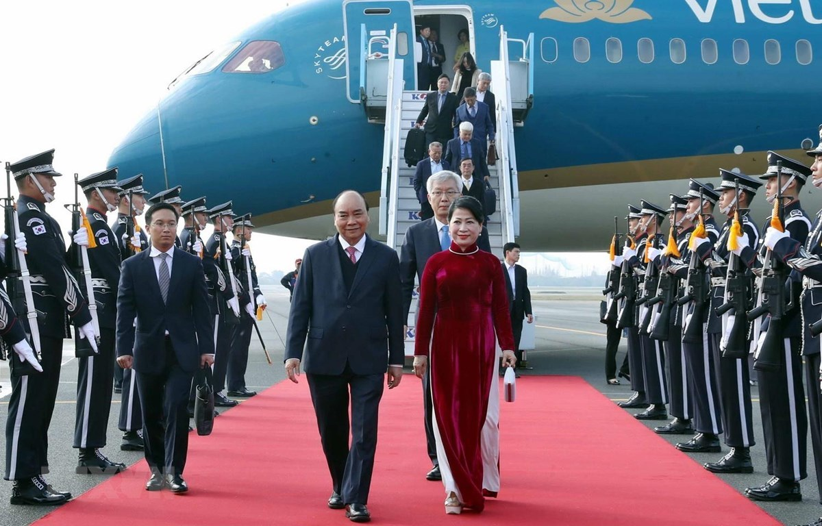 Thủ tướng trả lời báo chí Hàn Quốc nhân dự hội nghị ASEAN-Hàn Quốc