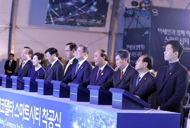 Vietnam,RoK,ASEAN,Commemorative Summit,Eco Delta City,smart city,ground-breaking ceremony,Viet Nam News