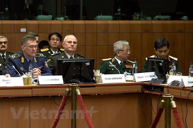 security defence cooperation,Vietnam,EU,security  defence dialogue,EU-Vietnam Framework Participation Agreement,Nguyen Chi Vinh,European Union Military Committee,bilateral working sessions