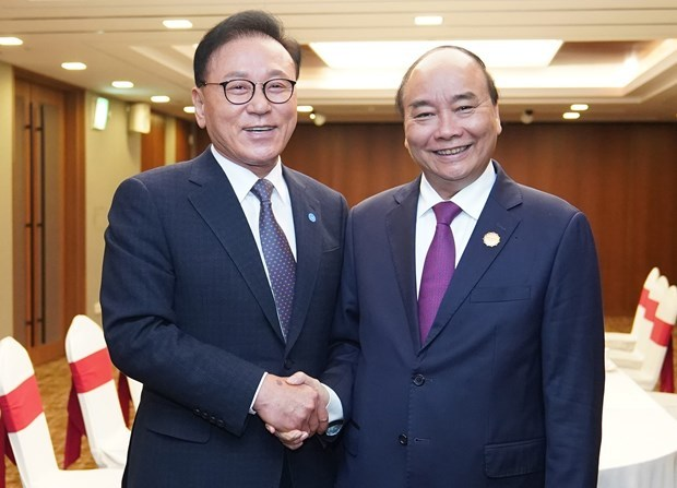 Vietnam,RoK Prime Minister Nguyen Xuan Phu Park Soo-kwan,Honorary Consul General of Vietnam in Koreas Busan,ASEAN-RoK Commemorative Summit
